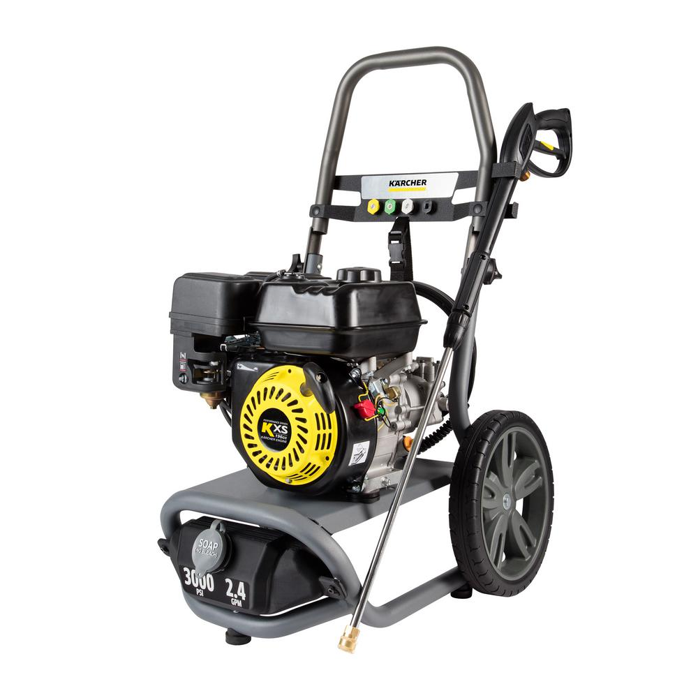 karcher 3000 psi pressure washer owners manual