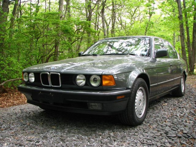 1988 bmw 735i owners manual