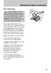 1999 ford contour owners manual
