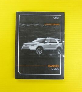 2011 ford explorer owners manual pdf