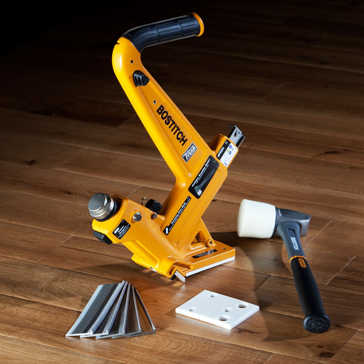 bostitch flooring nailer owners manual