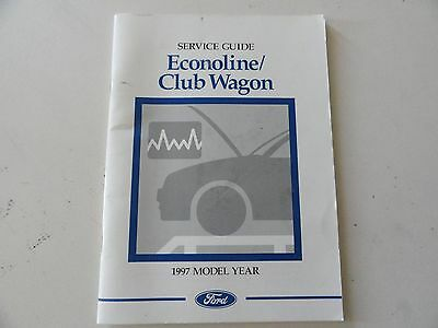 92 ford econoline owners manual